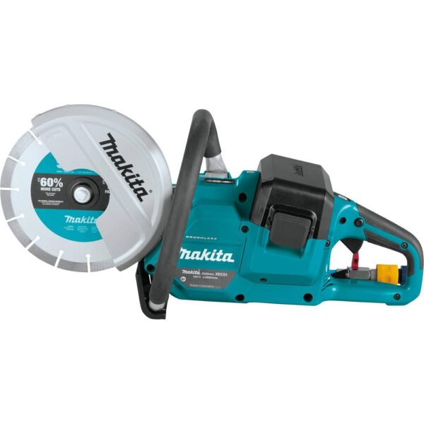 Makita 18-Volt X2 LXT Lithium-Ion (36V) Brushless Cordless 9 in. Power Cutter (Tool Only)