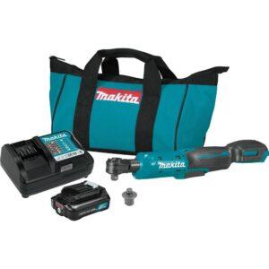 Makita 2.0 Ah 12-Volt MAX CXT 3/8 in./1/4 in. Sq. Drive Ratchet Kit with bonus 12-Volt MAX CXT 1/4 in. Sq. Drive Impact Wrench