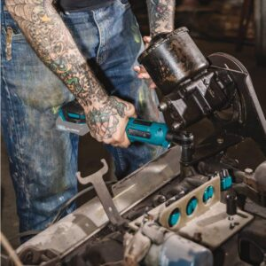 Makita 12-Volt MAX CXT Lithium-Ion Cordless 3/8 in./1/4 in. Sq. Drive Ratchet (Tool-Only)
