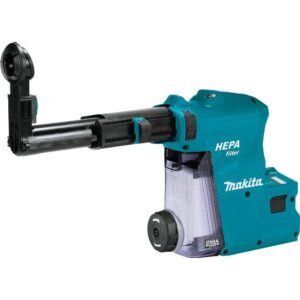 Makita Dust Extractor Attachment with HEPA Filter Cleaning Mechanism XRH08 XRH10