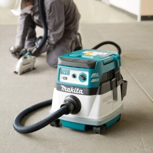Makita 18-Volt X2 LXT 36-Volt Brushless Cordless 2.1 Gal. HEPA Filter Dry Dust Extractor/Vacuum Kit with AWS 5.0 Ah