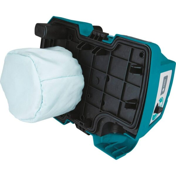 Makita 18-Volt 5.0 Ah LXT Lithium-Ion Brushless Cordless 2 Gal. HEPA Filter Portable Wet/Dry Dust Extractor/Vacuum Kit