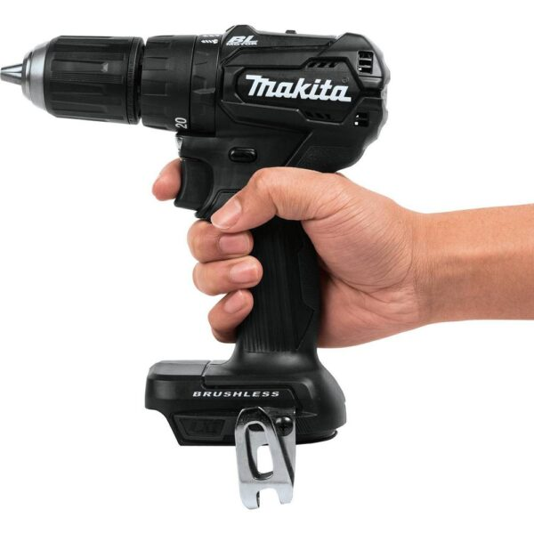 Makita 18-Volt LXT Lithium-Ion Sub-Compact Brushless Cordless 1/2 in. Hammer Driver Drill (Tool Only)