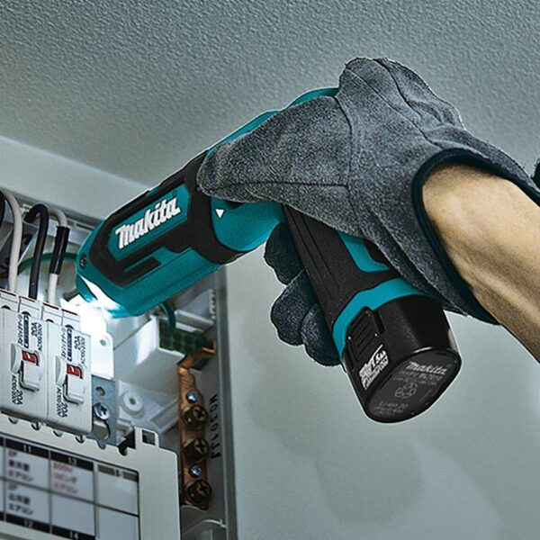 Makita 7.2-Volt Lithium-Ion Cordless 1/4 in. Hex Impact Driver Kit