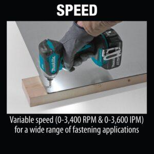 Makita 18-Volt LXT Brushless Impact Driver Kit with bonus 18-Volt LXT Lithium-Ion Cordless L.E.D. Flashlight