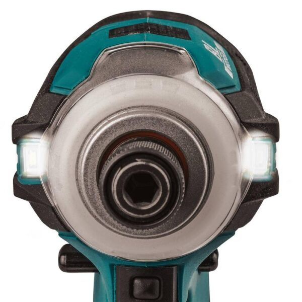 Makita 18-Volt LXT Lithium-Ion Brushless Impact Driver with ImpactXPS Insert Bit Holder and ImpactXPS 2 in. Power Bit, 3-Pack
