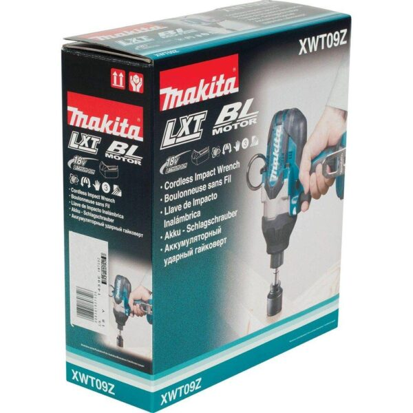 Makita 18-Volt LXT Lithium-Ion Brushless Cordless High Torque 7/16 in. Hex Impact Wrench (Tool-Only)