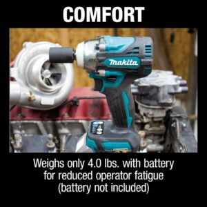Makita 18-Volt LXT Lithium-Ion Brushless Cordless 4-Speed 1/2 in. Impact Wrench with Detent Anvil (Tool-Only)