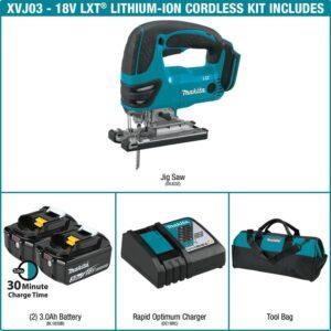 Makita 18-Volt LXT Lithium-Ion Cordless Jig Saw Kit