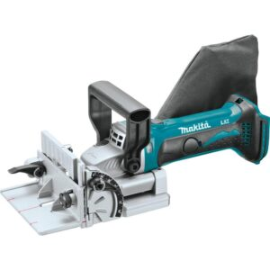 Makita 18-Volt LXT Lithium-Ion 0.75 in. Cordless Plate Joiner (Tool-Only) with bonus 18-Volt LXT Lithium-Ion Battery Pack 5.0Ah
