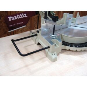 Makita 15 Amp 12 in. Corded Single-Bevel Compound Miter Saw with 40T Carbide Blade and Dust Bag