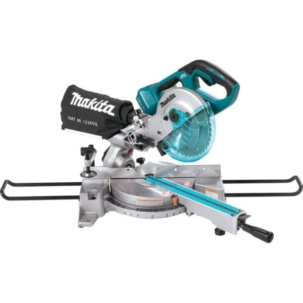 Makita 18-Volt X2 LXT Lithium-Ion 1/2 in. Brushless Cordless 7-1/2 in. Dual Slide Compound Miter Saw (Tool-Only)