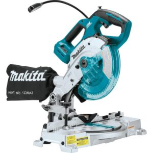 Makita 18-Volt LXT Lithium-Ion Brushless Cordless 6-1/2 in. Compact Dual-Bevel Compound Miter Saw with Laser (Tool Only)