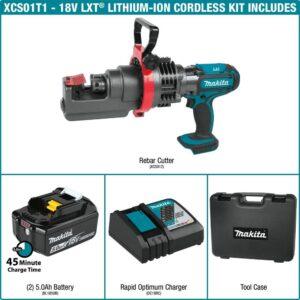 Makita 18-Volt 5.0Ah LXT Lithium-Ion Cordless Rebar Cutter Kit
