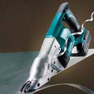 Makita 18-Volt LXT 5.0Ah Lithium-Ion Cordless 18-Gauge Straight Shear Kit