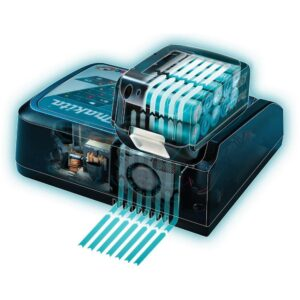 Makita 18-Volt LXT Lithium-Ion Rapid Optimum Battery Charger