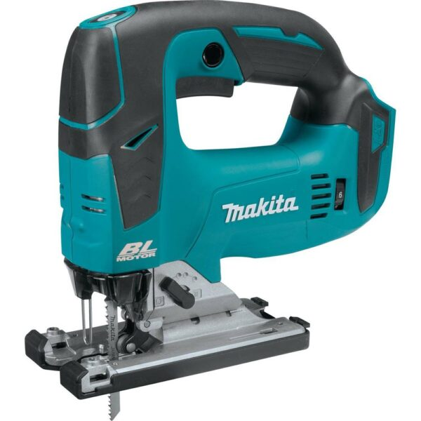 Makita 18-Volt LXT Brushless Compact Router, Jig Saw and 2 Gal. Dust Extractor/Vacuum with bonus 18-Volt LXT Starter Pack