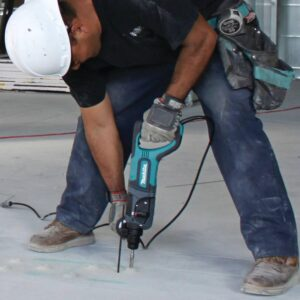 Makita 7 Amp Corded 1 in. SDS-Plus Concrete/Masonry Rotary Hammer Drill with Side Handle and Hard Case