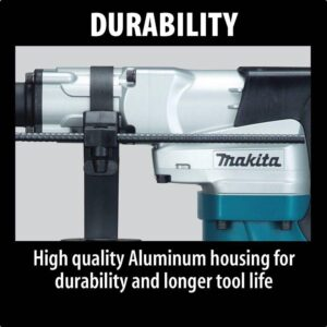 Makita 12 Amp 1-9/16 in. Corded Spline Concrete/Masonry Rotary Hammer Drill with Side Handle D-Handle and Hard Case