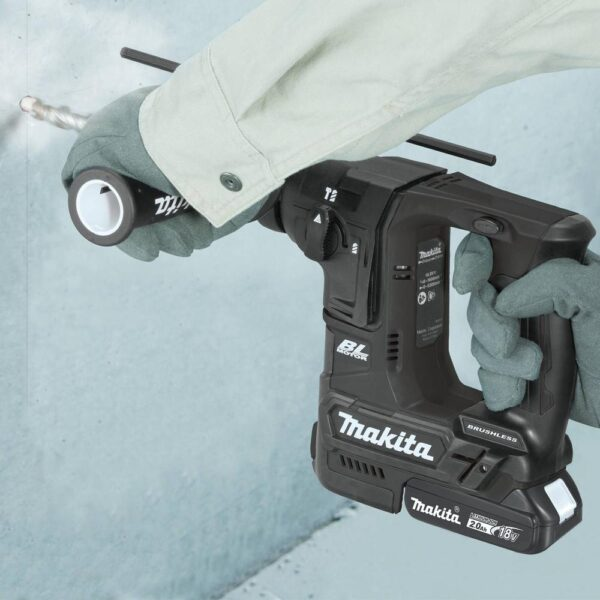Makita 18-Volt LXT Lithium-Ion Sub-Compact Brushless Cordless 11/16 in. Rotary Hammer Kit, accepts SDS-PLUS bits (2.0Ah)