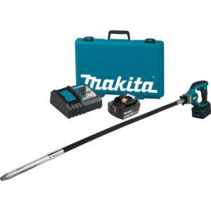Makita 18-Voltt 5.0Ah LXT Lithium-Ion Cordless 4 ft. Concrete Vibrator Kit
