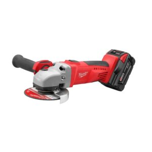 Milwaukee M28 28-Volt Lithium-Ion Cordless Grinder/Cut-Off Tool Kit w/(1) 3.0Ah Batteries and Charger