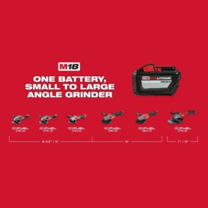 Milwaukee M18 FUEL 18-Volt Lithium-Ion Brushless Cordless 4-1/2 in. / 5 in. Grinder with Paddle Switch (Tool-Only)