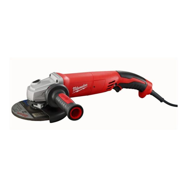 Milwaukee 13 Amp 5 in. Small Angle Grinder with Lock-On Trigger Grip