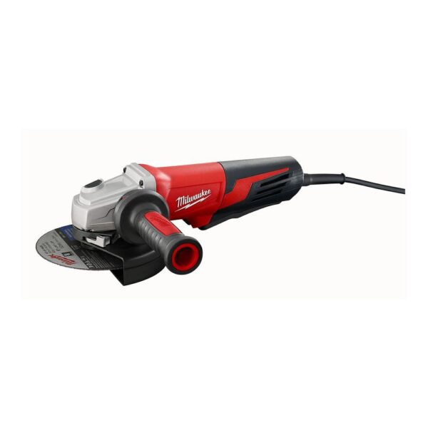 Milwaukee 13 Amp 6 in. Small Angle Grinder with Paddle Lock-On Switch