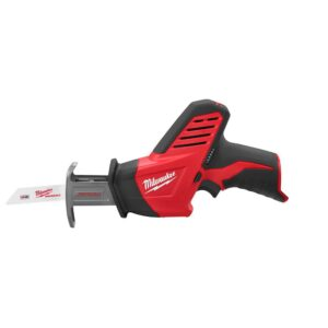 Milwaukee M12 FUEL 12-Volt 3 in. Lithium-Ion Brushless Cordless Cut Off Saw Kit with M12 Hackzall Reciprocating Saw