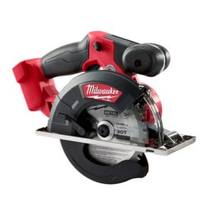 Milwaukee M18 FUEL 18-Volt Lithium-Ion Brushless Cordless Metal Cutting 5-3/8 in. Circular Saw (Tool-Only) w/ Metal Saw Blade