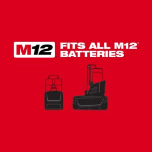 Milwaukee M12 12-Volt Lithium-Ion Cordless 1/4 in. Ratchet and 3/8 in. Ratchet Combo Kit (2-Tool) W/ (2) 2.0Ah Batteries
