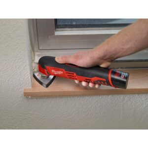 Milwaukee M12 12-Volt Lithium-Ion Cordless 3/8 in. Ratchet Multi-Tool Combo Kit with (1) 2.0Ah Battery and Charger