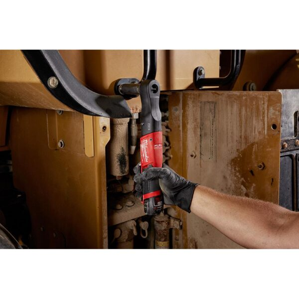 Milwaukee M12 FUEL 12-Volt Lithium-Ion Brushless Cordless 1/2 in. Ratchet & 1/4 in. Impact Combo with (1) 2.0Ah Battery & Charger
