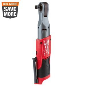 Milwaukee M12 FUEL 12-Volt Lithium-Ion Brushless Cordless 1/2 in. Ratchet (Tool-Only)