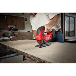 Milwaukee M18 FUEL 18-Volt Lithium-Ion Brushless Cordless Compact Router and Jig Saw 2-Tool Set (Tool-Only)