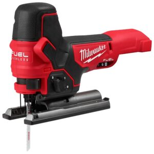 Milwaukee M18 FUEL 18-Volt Lithium-Ion Brushless Cordless Compact Router and Barrel Grip Jig Saw Set (Tool-Only)
