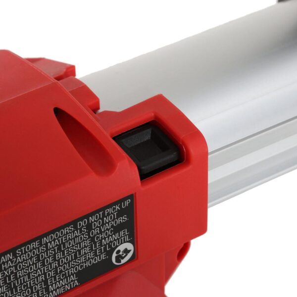 Milwaukee M18 18-Volt Lithium-Ion Cordless HammerVac HEPA Filtered Dust Extractor (Tool-Only)