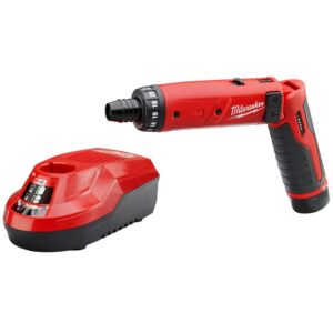 Milwaukee M4 4-Volt Lithium-Ion Cordless 1/4 in. Hex Screwdriver 1-Battery Kit