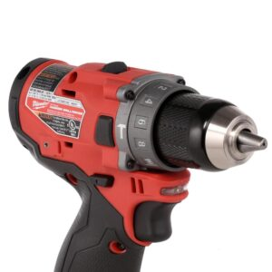 Milwaukee M12 FUEL 12-Volt Lithium-Ion Brushless Cordless 1/2 in. Hammer Drill (Tool-Only)