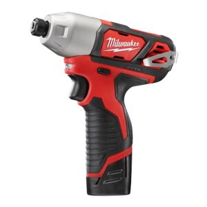 Milwaukee M12 12-Volt Cordless 1/4 in. Hex Impact Driver Combo Kit with Free M12 3/8 in. Ratchet (Tool-Only)