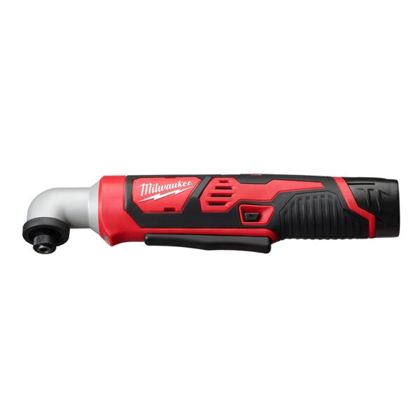 Milwaukee M12 12-Volt Lithium-Ion Cordless 1/4 in. Right Angle Hex Impact Driver Kit W/(1) 1.5Ah Batteries, Charger & Case