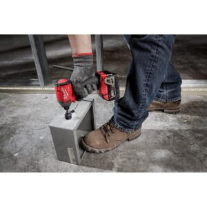 Milwaukee M18 FUEL ONE-KEY 18-Volt Lithium-Ion Brushless Cordless 1/4 in. Hex Impact Driver Kit with(2) 5.0Ah Batteries, Hard Case