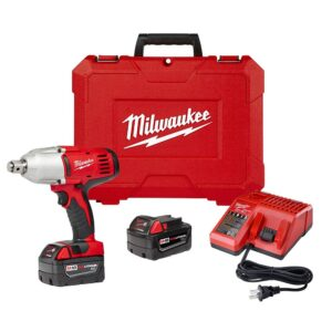 Milwaukee M18 18-Volt Lithium-Ion Cordless 3/4 in. Impact Wrench W/ Friction Ring W/(2) 3.0Ah Batteries, Charger, Hard Case