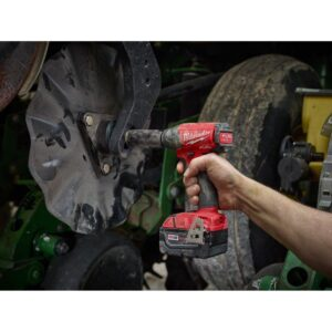 Milwaukee M18 FUEL 18-Volt Lithium-Ion Brushless Cordless 1/2 in. Compact Impact Wrench with Pin Detent (Tool-Only)
