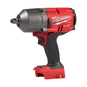 Milwaukee M18 FUEL 18-Volt 1/2 in. Lithium-Ion Brushless Cordless Impact Wrench with Friction Ring & Grease Gun with Two Batteries
