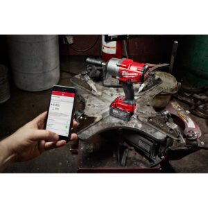 Milwaukee M18 FUEL 18-Volt Lithium-Ion Brushless Cordless 1/2 in. Impact Wrench with Standard and Extended Anvil (Tool-Only)