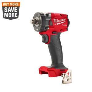 Milwaukee M18 FUEL GEN-3 18-Volt Lithium-Ion Brushless Cordless 1/2 in. Compact Impact Wrench with Friction Ring (Tool-Only)