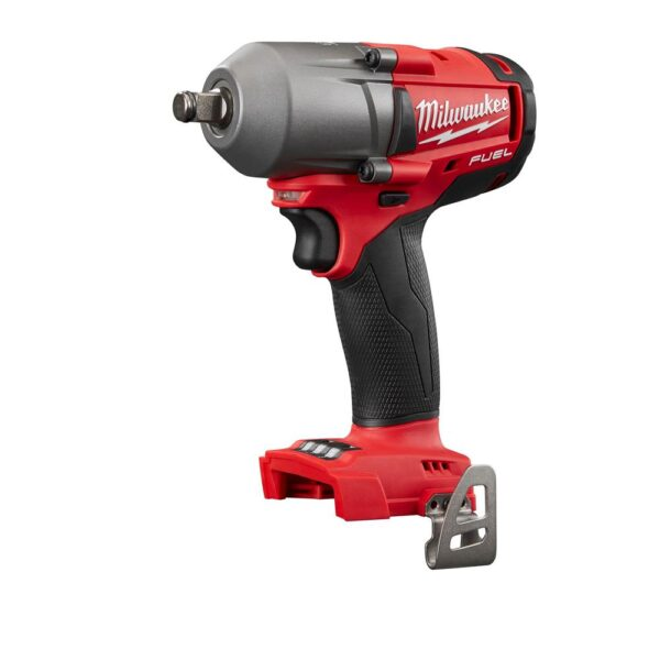 Milwaukee M18 FUEL 18-Volt Lithium-Ion Brushless Cordless Mid Torque 1/2 in. Impact Wrench W/ Friction Ring (Tool-Only)