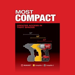 Milwaukee M18 FUEL ONE-KEY 18-Volt Lithium-Ion Brushless Cordless 1/2 in. Impact Wrench with Friction Ring (Tool-Only)